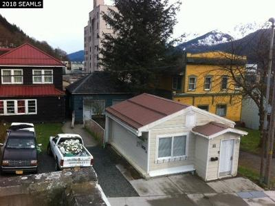 Juneau Single Family Home For Sale: 321 Third Street