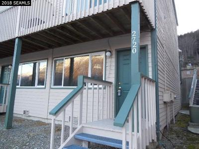 Juneau Borough Condo/Townhouse For Sale: 2720 Roger Street