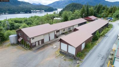 Ketchikan Commercial For Sale: 7446 N Tongass Hwy.