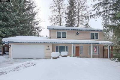 Juneau Single Family Home For Sale: 4493 Columbia Blvd.