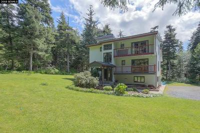 Juneau Single Family Home For Sale: 16480 Glacier Highway