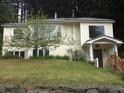 Single Family Home For Sale: 11480 Glacier Highway