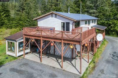 Ketchikan Gateway Borough Single Family Home For Sale: 6366-6368 Rebel Road