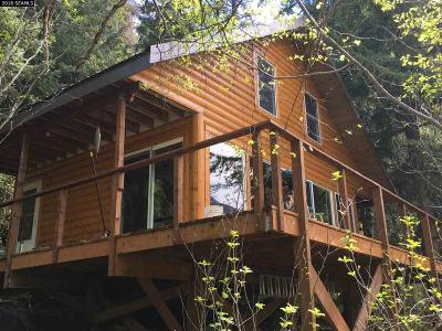 Single Family Home For Sale: Remote Recreational