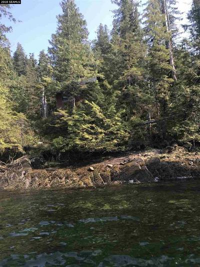 Ketchikan Single Family Home For Sale: Lot 7 NW Bull Island