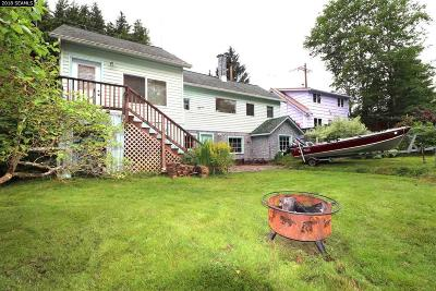 Ketchikan AK Single Family Home For Sale: $229,000