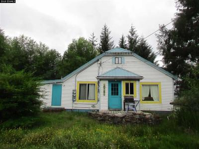 Ketchikan Single Family Home For Sale: 10881/10883 N Tongass Hwy.
