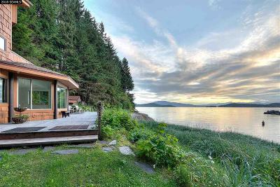 Juneau Borough Single Family Home For Sale: 3340 Fritz Cove Road