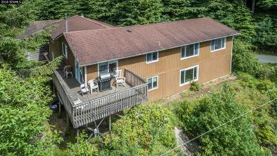 Ketchikan Single Family Home For Sale: 735 Miller Ridge Road