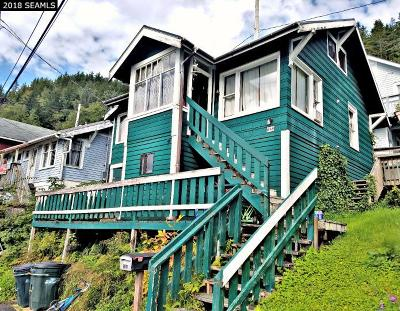 Ketchikan Single Family Home For Sale: 838 Warren Street