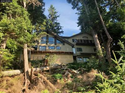 jun Single Family Home For Sale: 19101 Glacier Highway
