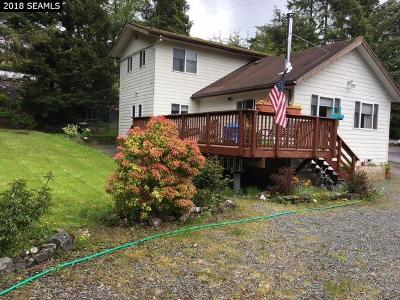 Ketchikan Single Family Home For Sale: 11468 Johannsen Road