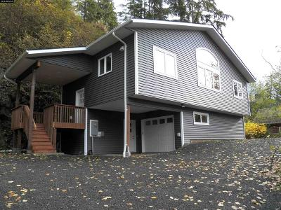 Juneau Borough Single Family Home For Sale: 2225 Fritz Cove Road