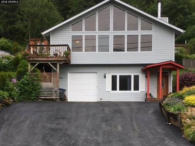 Single Family Home For Sale: 1841 Glacier Highway