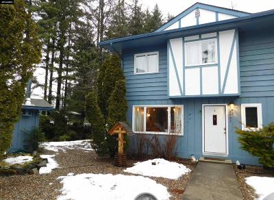 Juneau Borough Condo/Townhouse For Sale: 3591 Mendenhall Loop Road