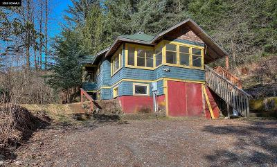 Juneau Borough Single Family Home For Sale: 4240 Glacier Highway
