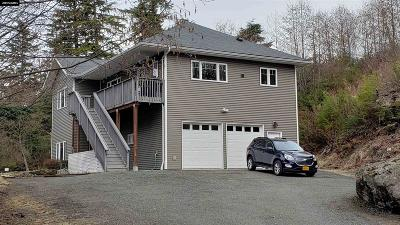 Juneau Borough Single Family Home For Sale: 17110 Pt. Lena Loop Road