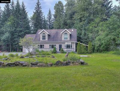Juneau Single Family Home For Sale: 9655 Mendenhall Loop Road