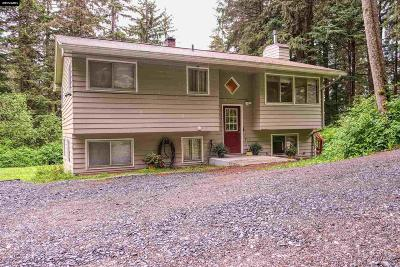 Juneau Borough Single Family Home For Sale: 2499 Engineer's Cutoff Road