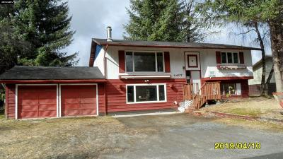 Juneau Borough Single Family Home For Sale: 4407 Cloverdale Street