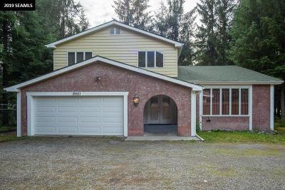 Juneau Single Family Home For Sale: 8501 Mendenhall Loop Road