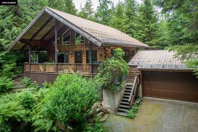 Ketchikan Gateway Borough Single Family Home For Sale: 12402 N Tongass Hwy.