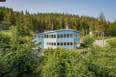 Ketchikan Single Family Home For Sale: 245 Seawatch