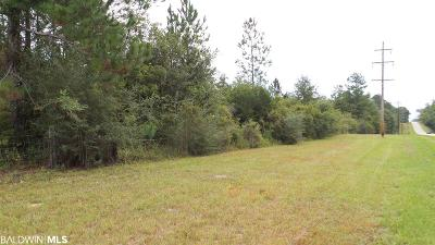 Pensacola, Perdido Key, Jay, Navarre Residential Lots & Land For Sale: State Highway 182