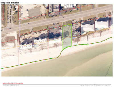 Orange Beach Residential Lots & Land For Sale: 28828 Perdido Beach Blvd
