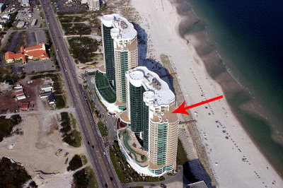 Turquoise Place Tower C, Turquoise Place Tower D Condo/Townhouse For Sale: 26302 Perdido Beach Blvd #P2304