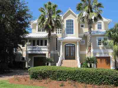 Orange Beach Single Family Home For Sale: 30939 Peninsula Dr