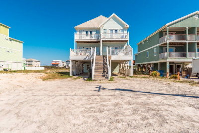 Gulf Shores Condo/Townhouse For Sale: 1412 West Beach Boulevard #A&B