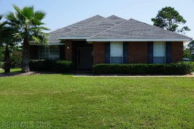 Gulf Shores Single Family Home For Sale: 1448 W Fairway Drive