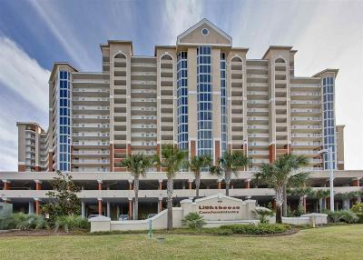 Gulf Shores Condo/Townhouse For Sale: 455 E Beach Blvd #1018