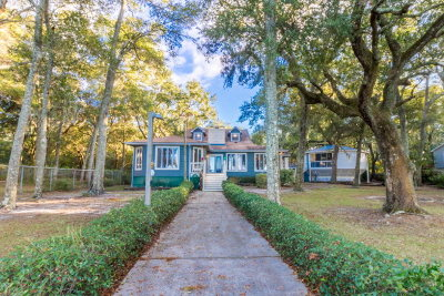 Gulf Shores Single Family Home For Sale: 1586 Shell Banks Ln