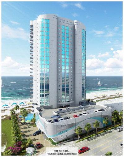 Gulf Shores Condo/Townhouse For Sale: 903 W Beach Blvd #801
