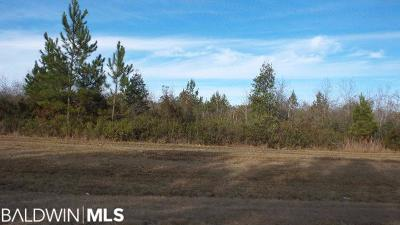 Pensacola, Perdido Key, Jay, Navarre Residential Lots & Land For Sale: 16182 State Highway 182