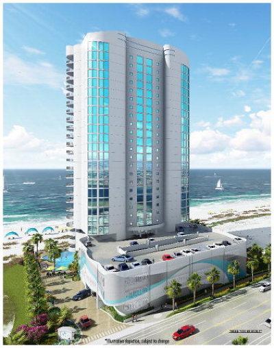 Gulf Shores Condo/Townhouse For Sale: 903 W Beach Blvd #2202