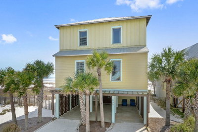 Gulf Shores Single Family Home For Sale: 1535 West Beach Blvd