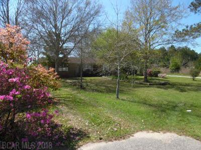 Foley Single Family Home For Sale: 21230 Miflin Rd