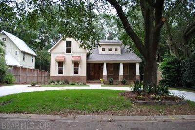 Fairhope Single Family Home For Sale: 413 Azalea Street