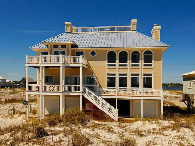 Gulf Shores Single Family Home For Sale: 2295 West Beach Boulevard