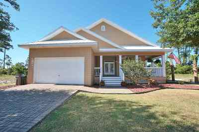 Pensacola, Perdido Key Single Family Home For Sale: 615 Clubhouse Terrace
