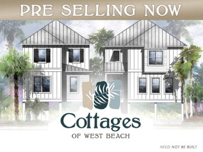 The Cottages At West Beach Single Family Home For Sale: 1100 W Beach Blvd