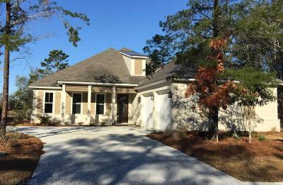 Gulf Shores Single Family Home For Sale: 545 Retreat Lane