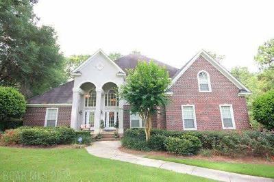 Daphne Single Family Home For Sale: 8712 Tupelo Court