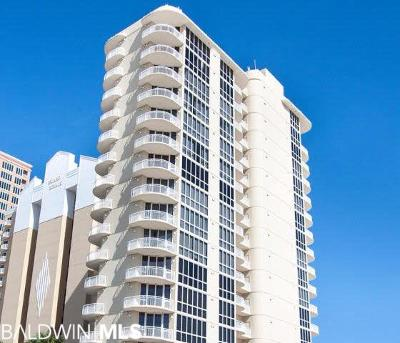 Gulf Shores Condo/Townhouse For Sale: 825 W Beach Blvd #PH