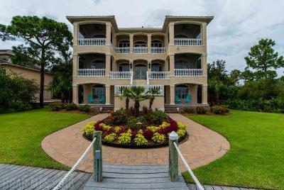 Orange Beach Single Family Home For Sale: 30689 Peninsula Dr