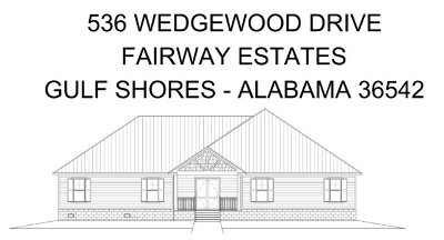Gulf Shores Single Family Home For Sale: 536 Wedgewood Drive