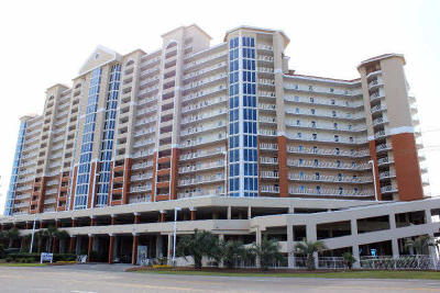 Gulf Shores Condo/Townhouse For Sale: 455 East Beach Blvd #714
